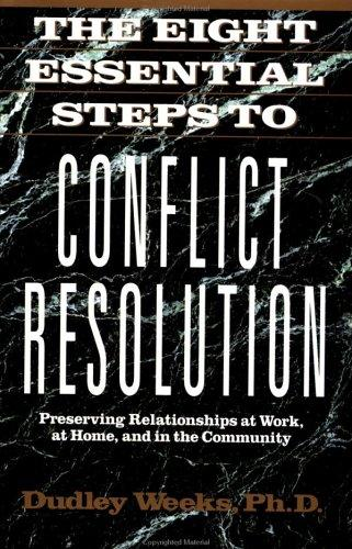 65279 the eight essential steps to conflict The steps already completed or underway to correct epa's contract management problems are reflective of the new direction recommended by the standing committee some of these recent steps include: o the formation of this standing committee has engaged the agency's leadership group in the most intensive, and far- reaching effort ever undertaken.