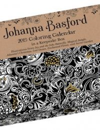 2019 johanna basford coloring day to day calendar