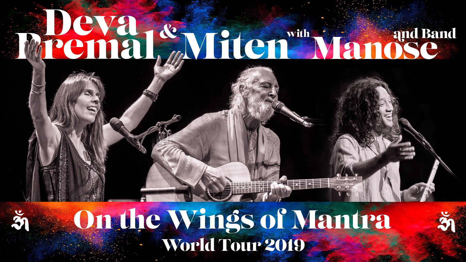 Deva Premal & Miten with Manose: On the Wings of Mantra | Banyen